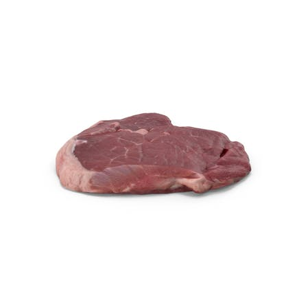Rohes Lammbein Steak
