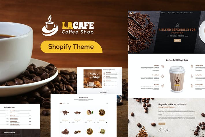 Thumbnail for LaCafe - Coffee Shop Shopify Store