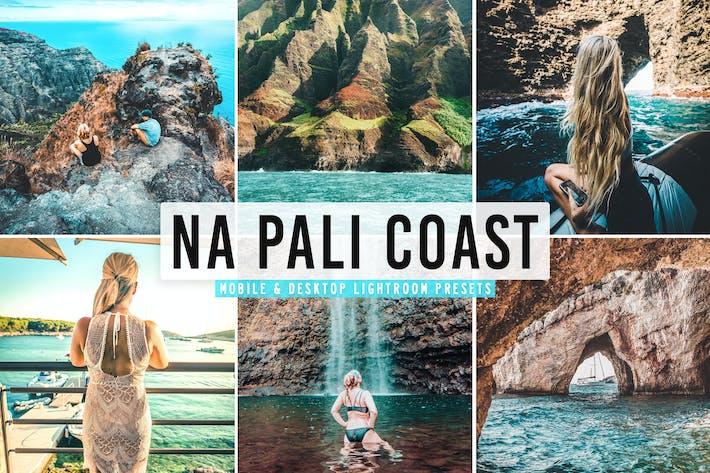 Thumbnail for Пресеты Lightroom для мобильных и настольных ПК Na Pali Coast