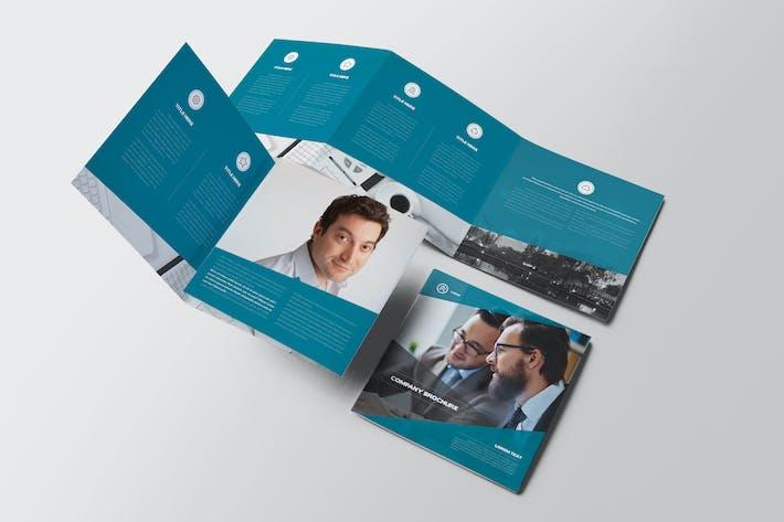 Thumbnail for Lorem Square Trifold Brochure
