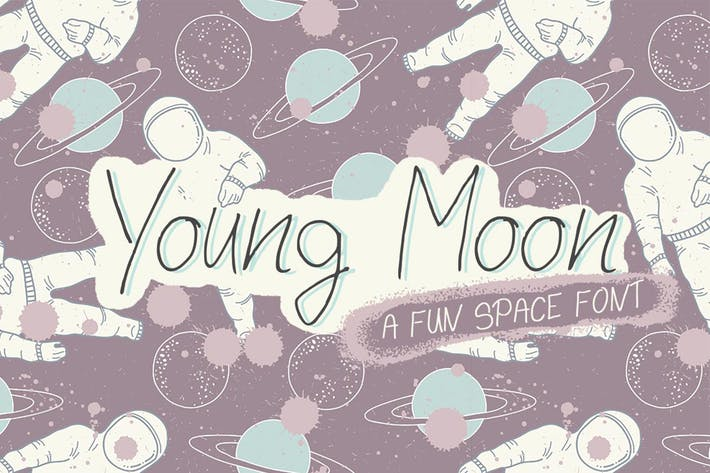 Thumbnail for Young Moon Font