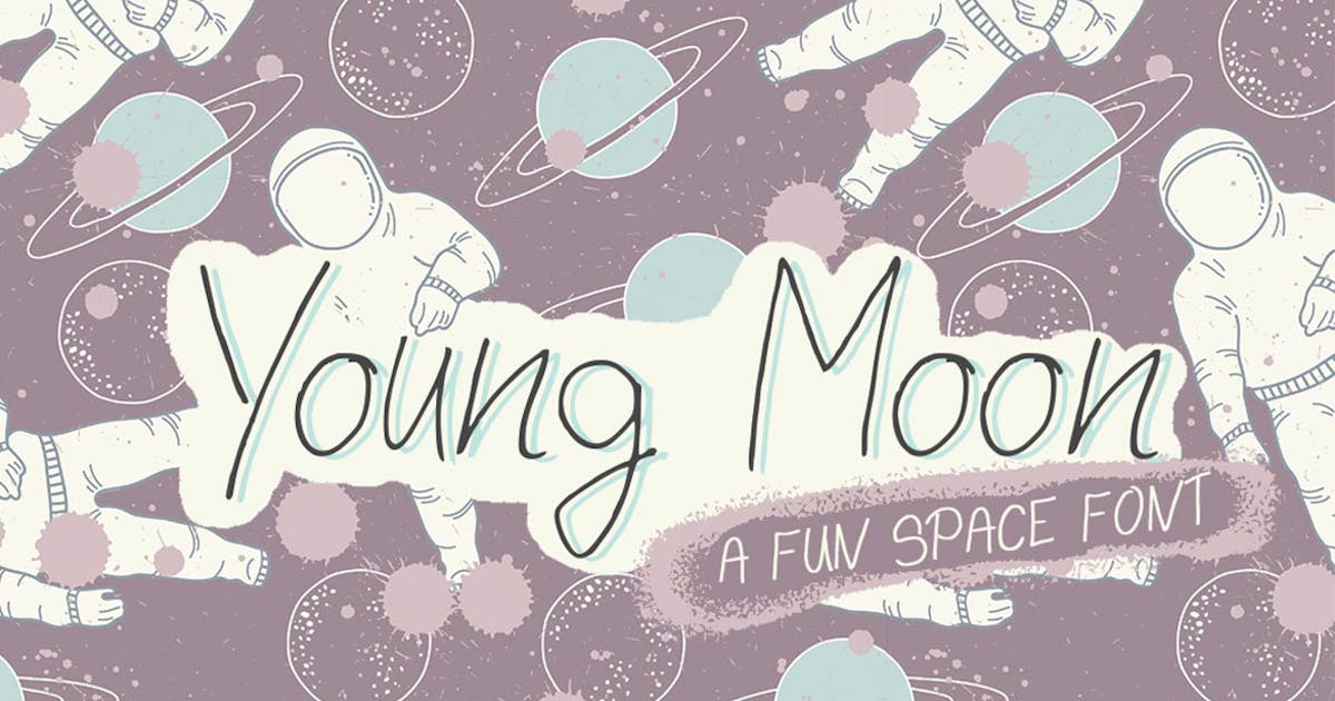 Young Moon Font by maroonbaboon