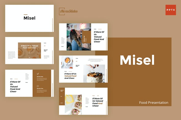 Thumbnail for Misel - Food Powerpoint Presentation Template