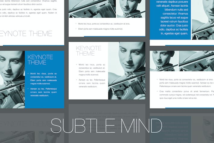 Thumbnail for Subtle Mind Keynote Template