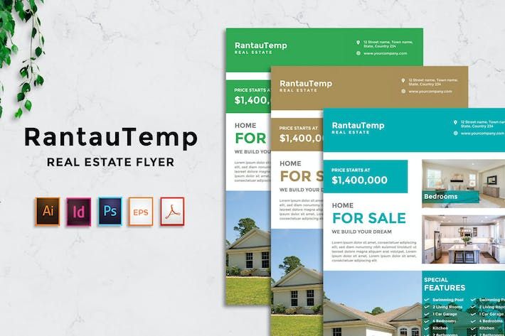 Thumbnail for RantauTemp - Real Estate Flyer v5