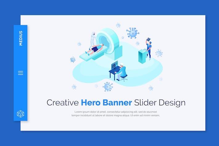 Medius - Hero Banner Template