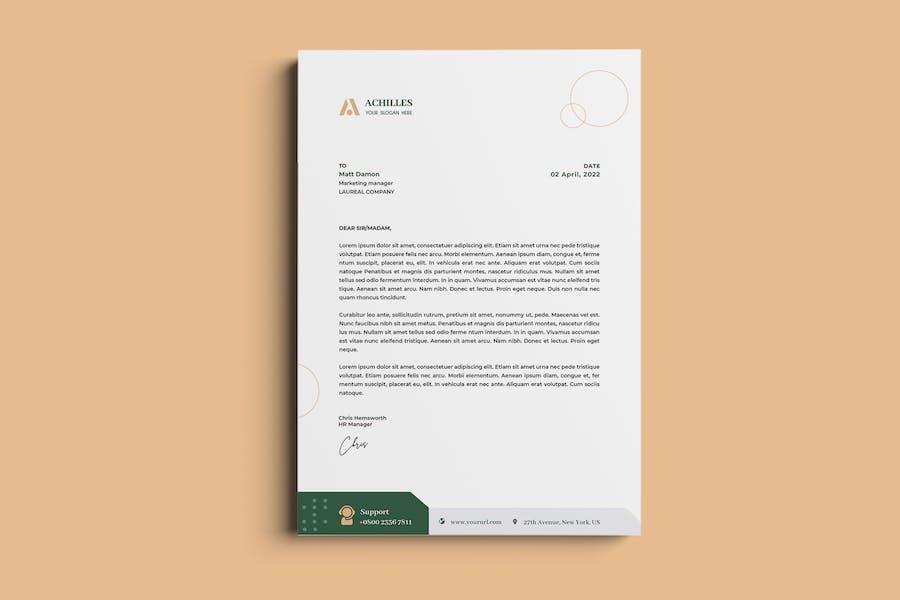 Architecture, Interior Letterhead & Invoice