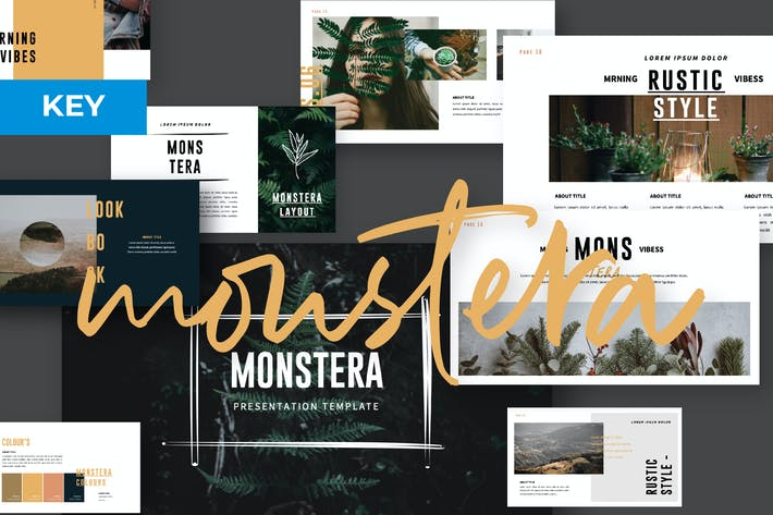 Thumbnail for MONSTERA Creative Keynote