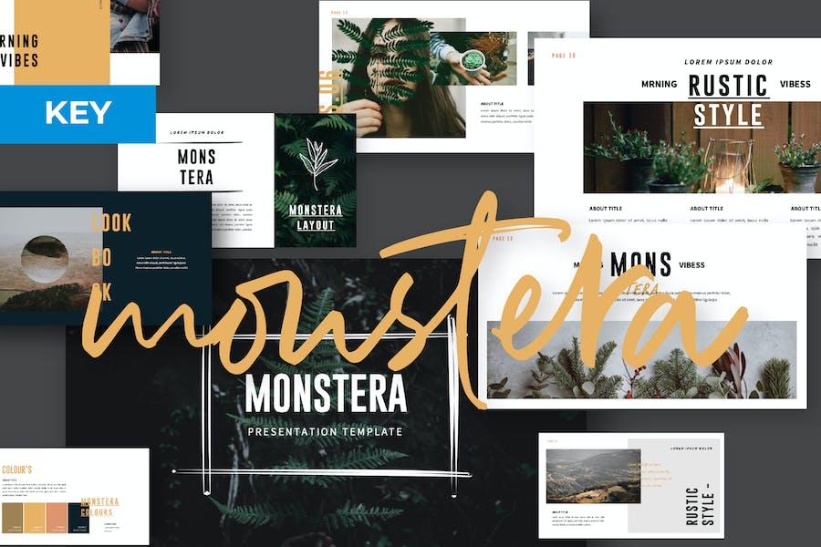 MONSTERA Creative Keynote