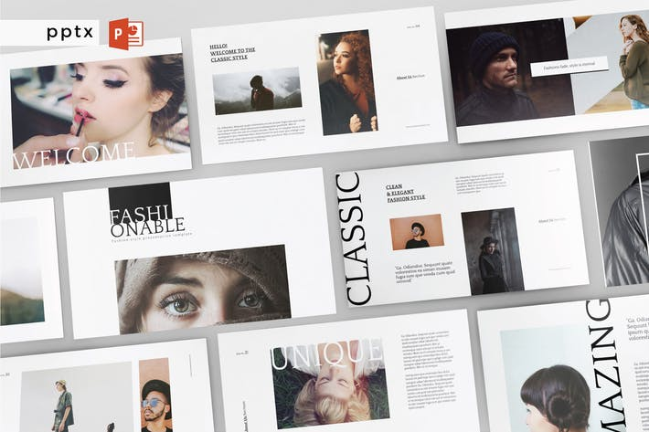 Thumbnail for FASHIONABLE - Multipurpose Powerpoint V144