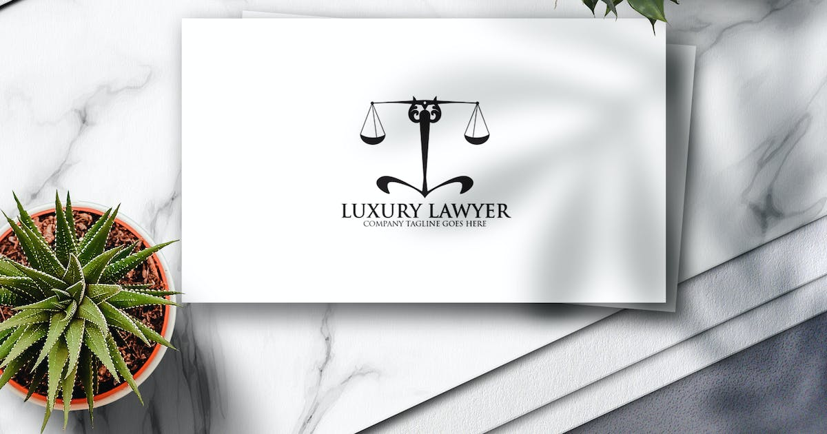 Download Luxury Lawyer Logo by Voltury