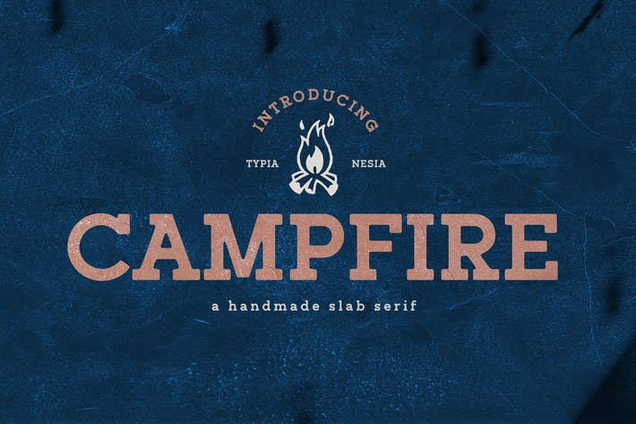 Thumbnail for Campfire Slab Serif
