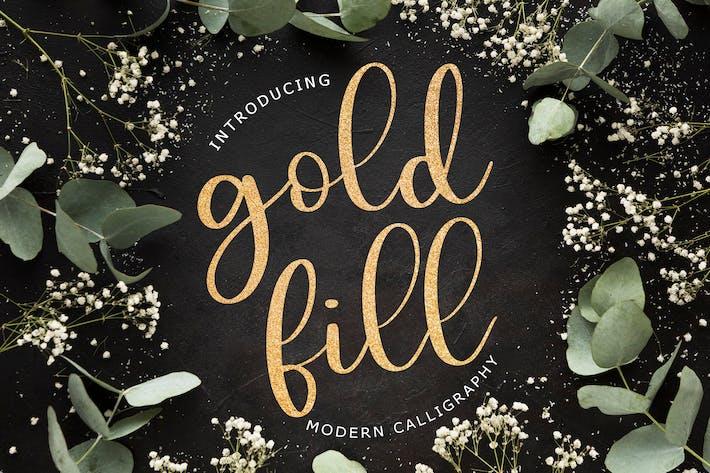 Thumbnail for Goldfill Calligraphie Moderne