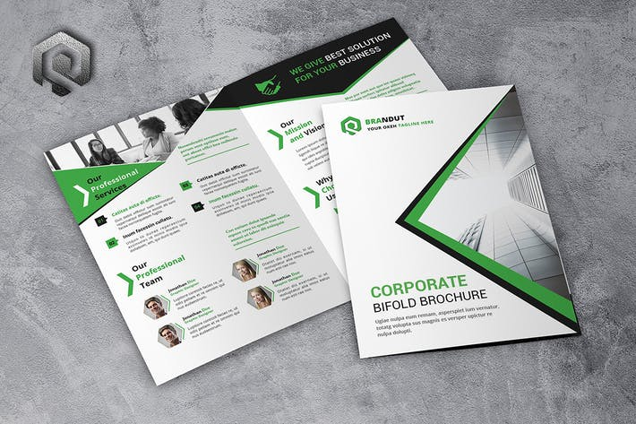 Thumbnail for Company Bifold Brochure