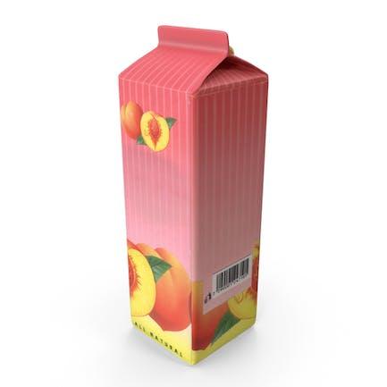 Peach Juice Carton