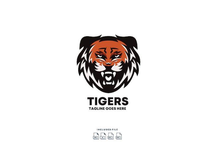 Thumbnail for Tiger - E-sport Logo Design