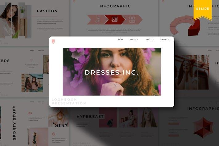 Платья | Шаблон слайдов Google