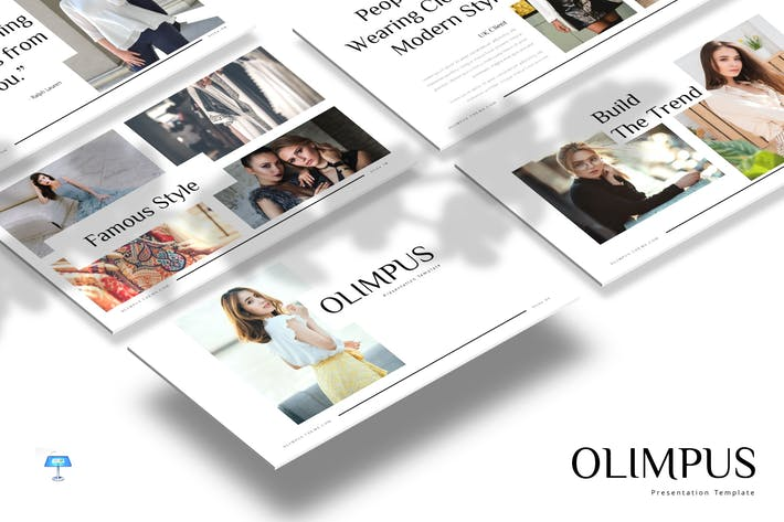 Cover Image For Olimpus - Keynote Template