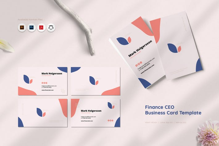 Thumbnail for Finance CEO Business Card