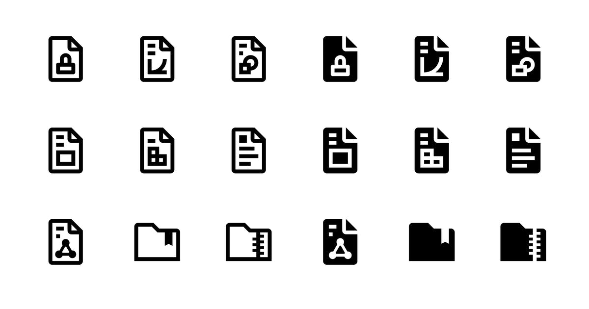 Download 46 Files and Folders Icons by polshindanil
