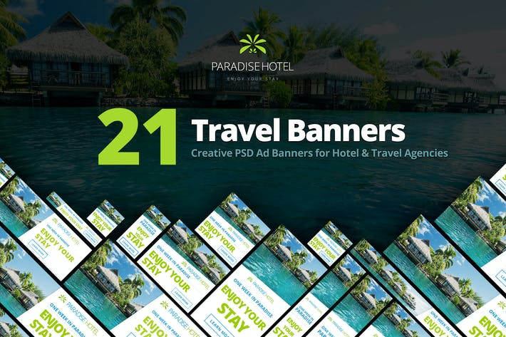 Thumbnail for Hotel/Travel Ad Marketing Banners