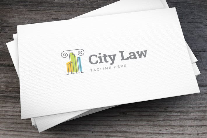 Thumbnail for City Law Logo Template