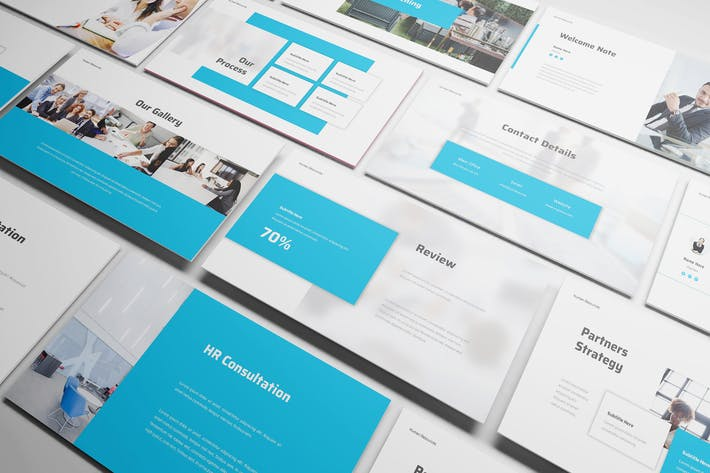 Thumbnail for Human Resource Powerpoint Template