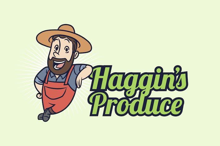 Thumbnail for Retro Vintage Farmer Mascot Logo