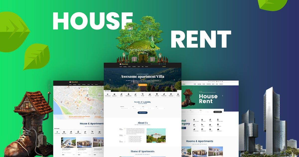 Download HouseRent by HTMLguru