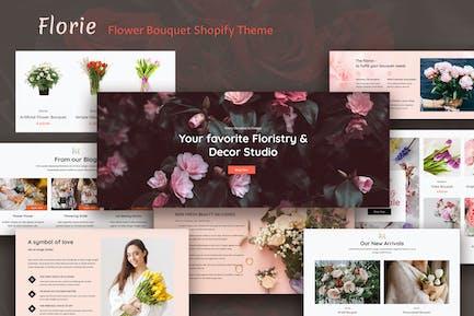 Florie - Flower Shop, Florist Store Shopify Theme