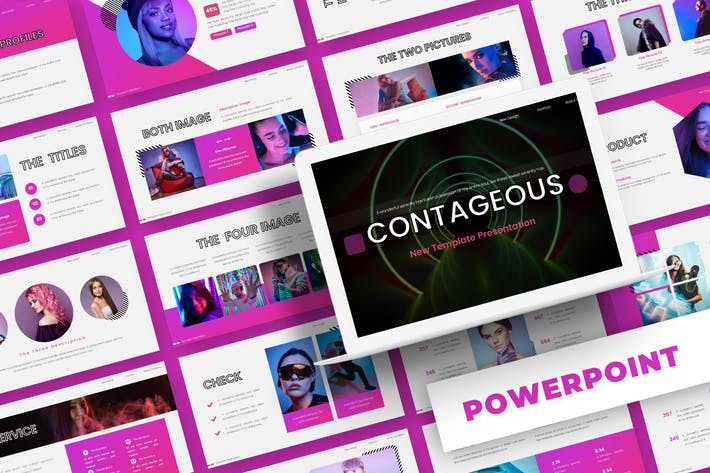 Thumbnail for Contageous - Powerpoint Template