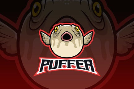 Puffer Fish Esport Logo
