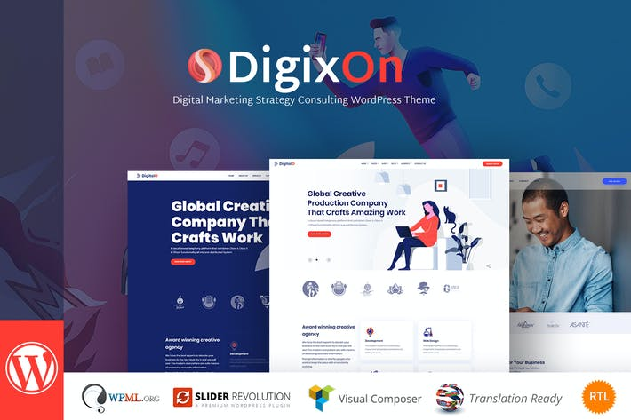 Thumbnail for Digixon - Digital Marketing Strategy Consulting WP