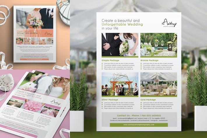 Thumbnail for Wedding Planner Flyer