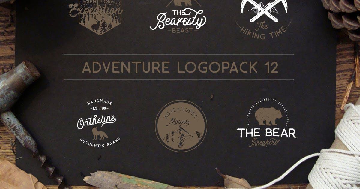 Download Adventure Logopack Vol. 12 by letterhend