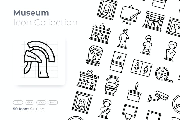 Thumbnail for Museum Outline Icon