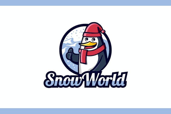 Thumbnail for Penguin Mascot Character Logo