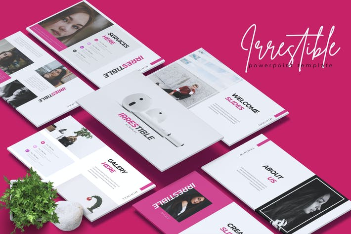 Thumbnail for IRRESTIBLE - Creative Powerpoint Template