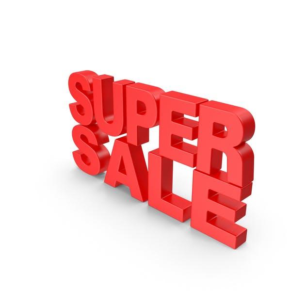 Super Sale Text