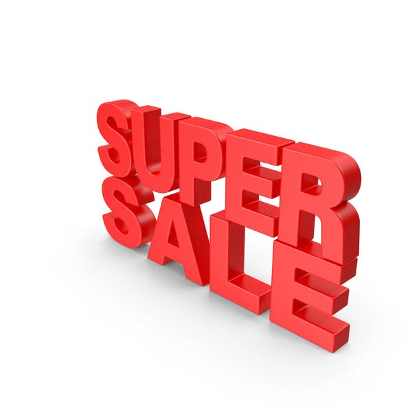 Super Sale Text