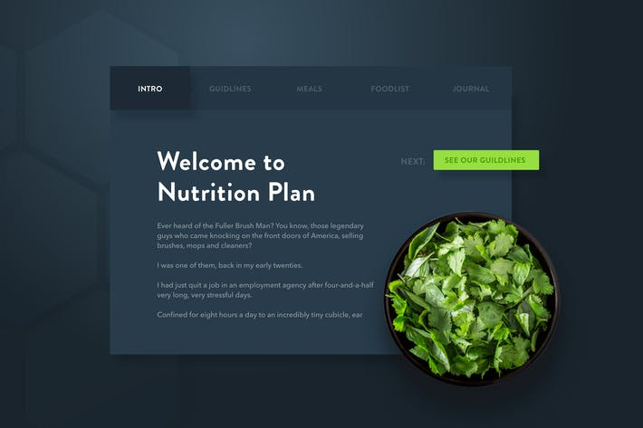 Thumbnail for Fitness Web App - Welcome Intro