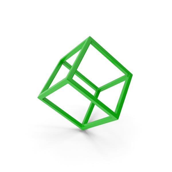 Куб Зеленый