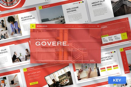 Govere - Keynote Presentation Template