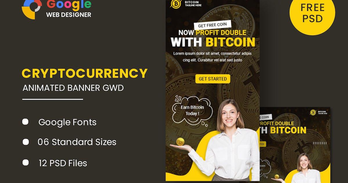 Download Bitcoin Animated Banner Google Web Designer by IsLein