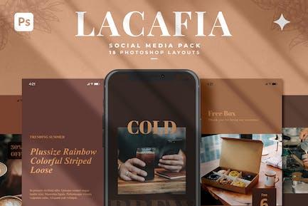 Lacafia Social Media Template
