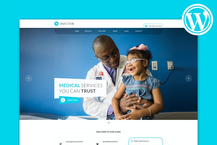 Thumbnail for Doctor - Medical & Health WordPress Theme