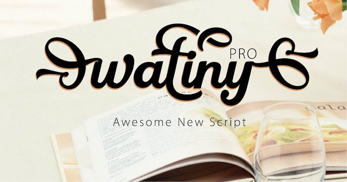 Download WATINY - SCRIPT FONT by Olexstudio