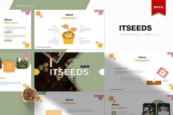 Thumbnail for Itseeds | Шаблон Powerpoint