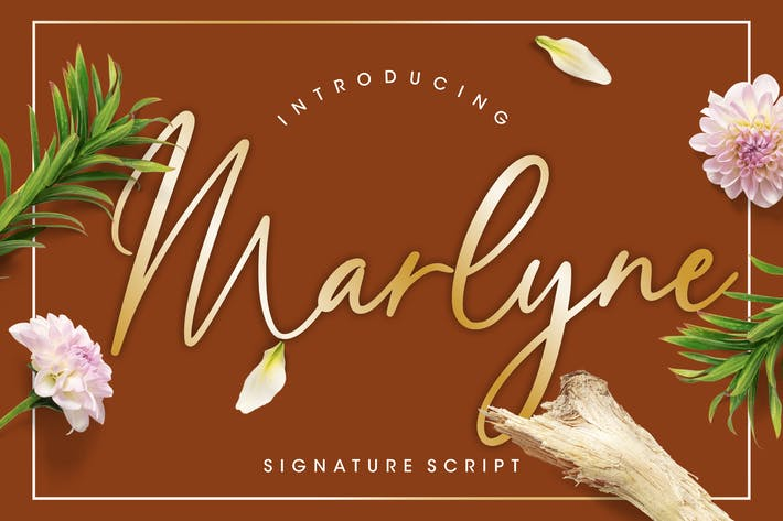 Thumbnail for Marlyne Signature Script