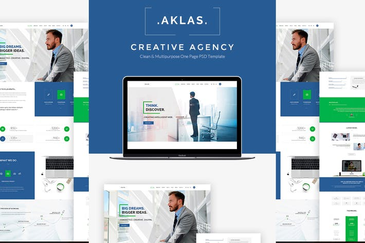 Thumbnail for Aklas - Business Creative HTML